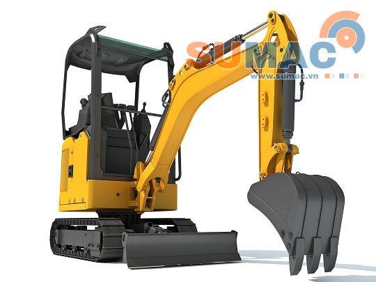 excavator use cylinder