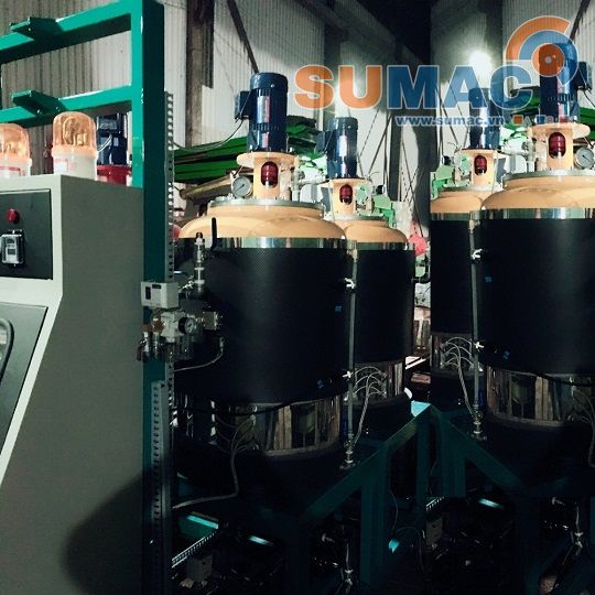 low-pressure-pu-foaming-machine